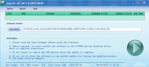 ZTE FlashTool MF710 HD V1 00 00 / Софт для прошивки